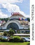 evian les bains  france   july... | Shutterstock . vector #747592126
