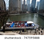editorial  chicago il  april 26.... | Shutterstock . vector #747595888