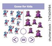 education logic game for... | Shutterstock .eps vector #747604984