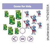 education logic game for... | Shutterstock .eps vector #747605014