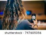 strasbourg  france   nov 3 ... | Shutterstock . vector #747605356