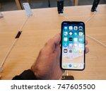 strasbourg  france   nov 3 ...   Shutterstock . vector #747605500