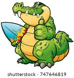 vector illustration of cartoon... | Shutterstock .eps vector #747646819