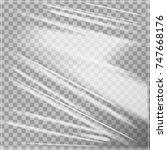 vector template of transparent... | Shutterstock .eps vector #747668176