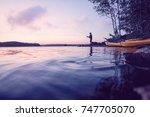 Recreation At A Beautiful Lake