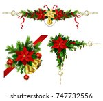 christmas elements for your... | Shutterstock .eps vector #747732556