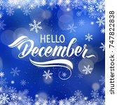 great season texture with... | Shutterstock . vector #747822838