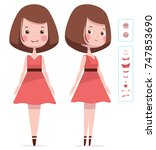 woman character creation for