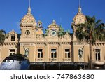 casino in monaco | Shutterstock . vector #747863680