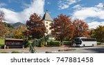 millstatt  austria   october 8  ... | Shutterstock . vector #747881458