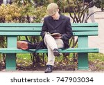 vilnius  lithuania   october 17 ... | Shutterstock . vector #747903034
