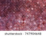 colorful soft pastel monophonic ... | Shutterstock . vector #747904648