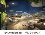 3d illustration modern...   Shutterstock . vector #747944914