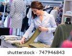 Clothing Shop Saleswoman...