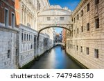 The Famous Bridge Of Sighs In...
