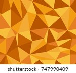 seamless low poly pattern in...
