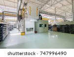 workshop with finished products ... | Shutterstock . vector #747996490