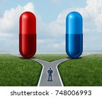 Red And Blue Pill Choice As A...