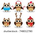 Vector Illustration Of Fun Owl...