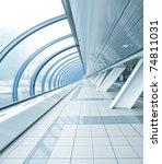 Light Blue Spacious Corridor