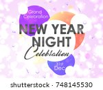 nice and beautiful abstract for ... | Shutterstock .eps vector #748145530