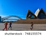 sydney  australia   30th of...   Shutterstock . vector #748155574