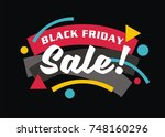 sale promotion modern design... | Shutterstock .eps vector #748160296
