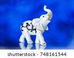 porcelain statuette  porcelain