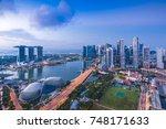 singapore   august 25  2017... | Shutterstock . vector #748171633