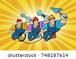Set Electrician Builder And...