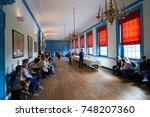 philadelphia  pennsylvania   1... | Shutterstock . vector #748207360