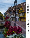 Small photo of Little Venice, Old city of Colmar, the capital of Alsatian wine, Haut-Rhin, France