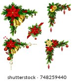 christmas elements for your... | Shutterstock .eps vector #748259440