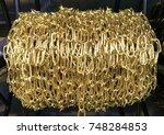 gold chain | Shutterstock . vector #748284853