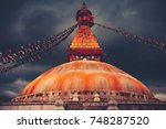 The Famous Buddhist Stupa At...