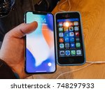 strasbourg  france   nov 3 ... | Shutterstock . vector #748297933