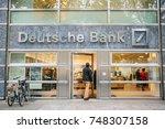 berlin  october 2  2017 ... | Shutterstock . vector #748307158