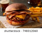 A delicious pub style bacon...