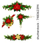 christmas elements for your... | Shutterstock .eps vector #748362394