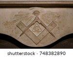 freemason symbol   Shutterstock . vector #748382890