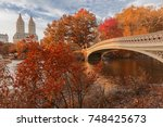 Bow Bridge In Central Park...