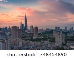 nanjing china august 2017 the... | Shutterstock . vector #748454890