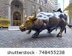 new york city   circa november...   Shutterstock . vector #748455238