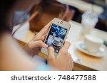 phuket  thailand   november 02  ... | Shutterstock . vector #748477588
