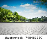 the beautiful park | Shutterstock . vector #748483330