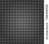 abstract vector background.... | Shutterstock .eps vector #748498900