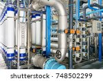 reverse osmosis system for... | Shutterstock . vector #748502299