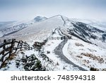 hollins cross  back tor and... | Shutterstock . vector #748594318