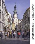 bratislava  slovakia   november ... | Shutterstock . vector #748630090