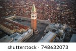 venice from above | Shutterstock . vector #748632073